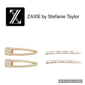 Zaxie by Stefanie Taylor Gold & Sparkle Hair Pins